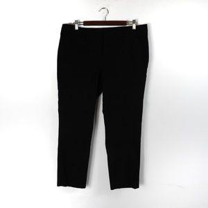 K14 JCP Black Ankle Pants Size 14
